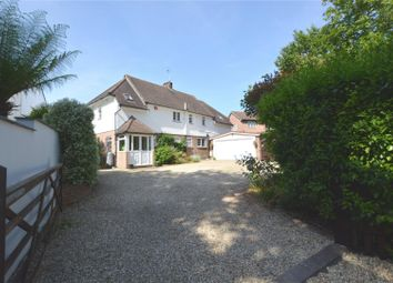 Thumbnail 4 bed detached house for sale in Ridgeway Lane, Lymington, Hampshire