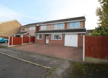 Thumbnail 5 bed detached house for sale in Hackworth Close, Newthorpe, Nottingham