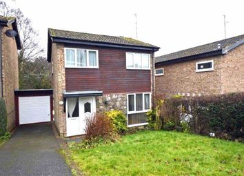 Thumbnail 3 bed detached house for sale in Oakenshaw Close, Leicester