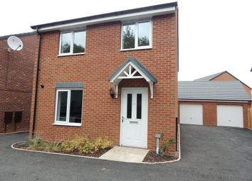 Thumbnail 4 bed detached house to rent in Oakley Road, Burntwood
