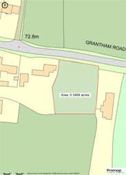Thumbnail Land for sale in Grantham Road, Ingoldsby, Grantham, Lincolnshire