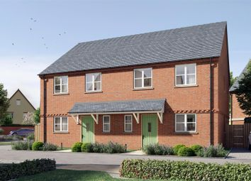 Thumbnail 2 bed semi-detached house for sale in The Chaffinch, Heyford Meadow, Hankelow