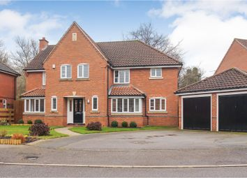 Thumbnail 5 bed detached house for sale in Broad Dale Close, Sudbrooke, Lincoln