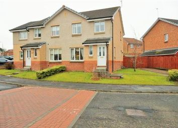 Thumbnail 3 bed semi-detached house for sale in Alexander Gibson Way, Motherwell