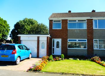 Thumbnail 3 bedroom semi-detached house for sale in Keilder Rise, Hemlington, Middlesbrough