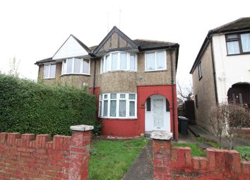 Thumbnail 3 bed semi-detached house to rent in River Way, Luton