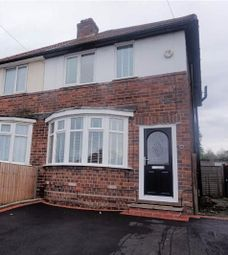 Thumbnail 2 bed semi-detached house to rent in Aston Road, Oldbury