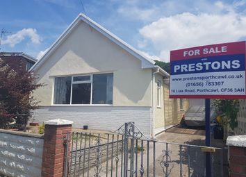 Thumbnail 3 bed detached bungalow for sale in Cherry Tree Avenue, Dan Y Graig, Porthcawl