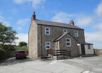 Thumbnail 4 bed detached house to rent in Burras, Wendron, Helston