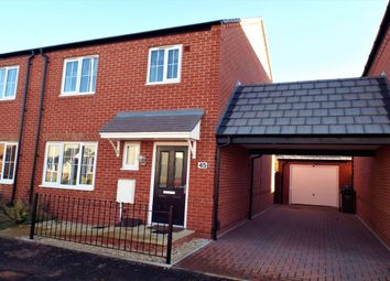 Thumbnail 3 bed semi-detached house for sale in Cartwright Way, Evesham