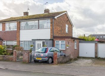 Thumbnail 3 bed semi-detached house to rent in Bosanquet Road, Hoddesdon