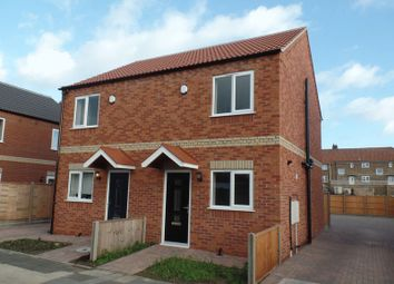 Thumbnail 2 bed semi-detached house to rent in Queen Mary Road, Lincoln