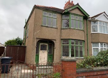 Thumbnail 3 bed semi-detached house for sale in Newborough Avenue, Crosby, Liverpool, Merseyside
