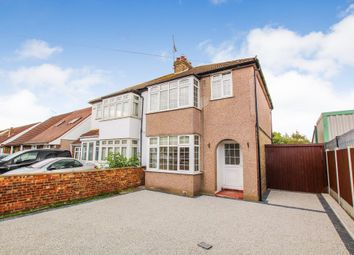 Thumbnail 3 bed semi-detached house for sale in Lodge Lane, Collier Row, Romford