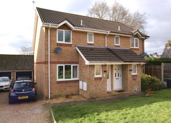 Thumbnail 3 bed semi-detached house to rent in Oak Close, Corfe Mullen, Wimborne