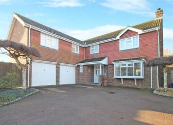 Thumbnail 4 bed detached house for sale in Appletree Walk, Climping, West Sussex