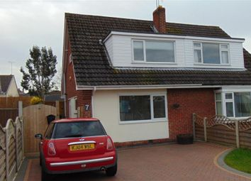 Thumbnail 3 bed semi-detached house to rent in Ravensthorpe Road, Wigston