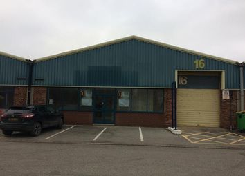Thumbnail Light industrial to let in Unit 16, Central Trading Estate, Marley Way, Chester, Saltney, Flintshire