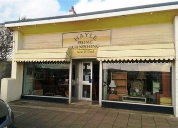 Thumbnail Retail premises for sale in 36, Penpol Terrace, Hayle, Cornwall