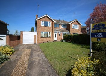 Thumbnail 3 bed semi-detached house for sale in Shelley Drive, Higham Ferrers, Rushden