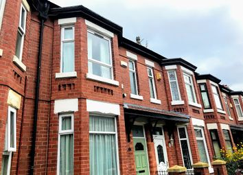 Thumbnail 3 bed terraced house to rent in Spencer Avenue, Chorlton Cum Hardy, Manchester