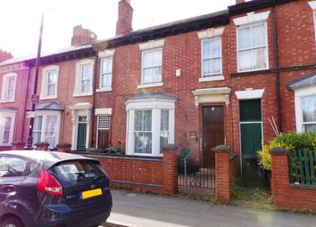4 bed terraced house for sale in Lincoln Street, Highfields, Leicester, Leicestershire LE2