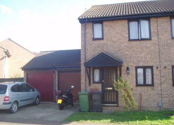 Thumbnail 2 bed semi-detached house to rent in Hadrians Court, Fletton, Peterborough