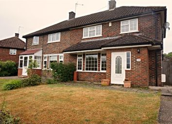 Thumbnail 3 bed semi-detached house to rent in Stanborough Avenue, Borehamwood