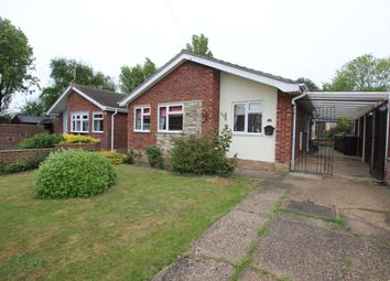 Thumbnail 3 bedroom bungalow for sale in Cavendish Close, Lowestoft