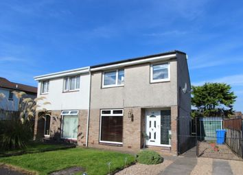 Thumbnail 3 bed semi-detached house for sale in Hallside Crescent, Cambuslang, Glasgow