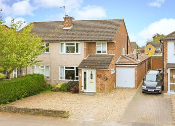 Thumbnail 4 bedroom semi-detached house for sale in Cowper Crescent, Hertford
