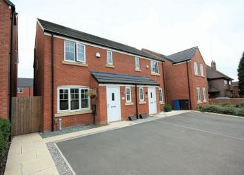 Thumbnail 3 bed semi-detached house for sale in 282 Green Lane, Leigh