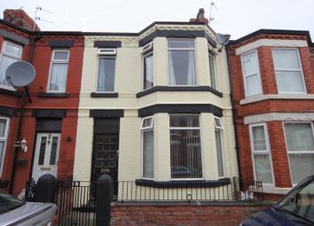 Thumbnail 3 bed terraced house for sale in Wordsworth Avenue, Rock Ferry, Wirral
