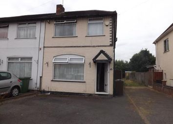 Thumbnail 3 bed end terrace house for sale in Shakespeare Road, Shirley, Solihull, West Midlands