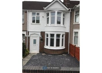 Thumbnail 3 bed terraced house to rent in Chelveston Road, Coventry