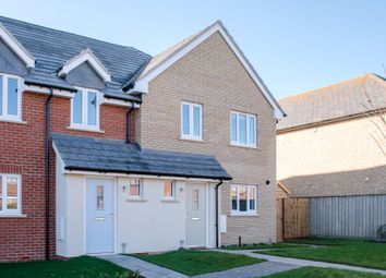 Thumbnail 3 bed semi-detached house for sale in Carr Avenue, Leiston, Suffolk