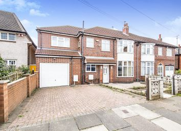 Thumbnail 5 bedroom semi-detached house for sale in Kingsway Road, Evington, Leicester