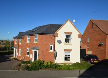 Thumbnail 3 bedroom semi-detached house for sale in Brands Hatch Close, Burton Latimer, Kettering