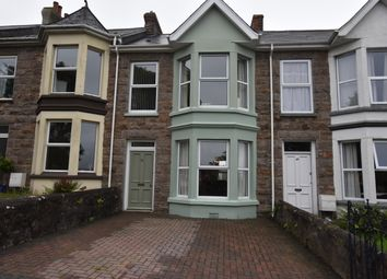 Thumbnail 4 bed terraced house for sale in Park Road, Redruth