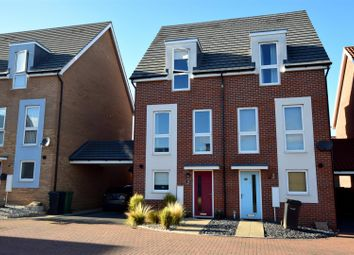 Thumbnail 3 bed property for sale in Poethlyn Drive, Costessey, Norwich