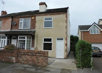Thumbnail 2 bed end terrace house to rent in Church Street, Shirland, Alfreton, Derbyshire