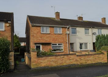 Thumbnail 3 bedroom end terrace house for sale in New Romney Crescent, Netherhall, Leicester