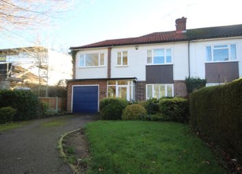 Thumbnail 3 bedroom semi-detached house to rent in Chelmsford Road, Shenfield, Brentwood