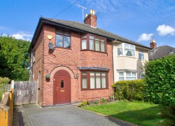 Thumbnail 3 bed semi-detached house for sale in Darley Avenue, Bobbersmill, Nottingham