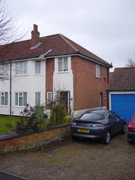 Thumbnail 2 bed flat to rent in Christopher Close, Norwich