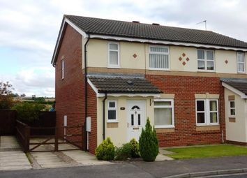 Thumbnail 2 bed semi-detached house to rent in Hailstone Drive, Northallerton