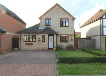 Thumbnail 4 bedroom detached house for sale in All Saints Green, Worlingham