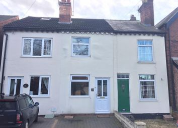 Thumbnail 2 bed terraced house for sale in Lullington Road, Overseal, Swadlincote
