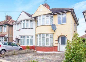 Thumbnail 3 bed semi-detached house for sale in Sandhurst Road, Kingsbury, London, Uk