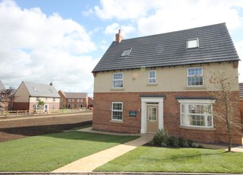 "Thumbnail 5 bed detached house for sale in ""Moorecroft"" at Furlong Close, Barkby Road, Syston, Leicester"